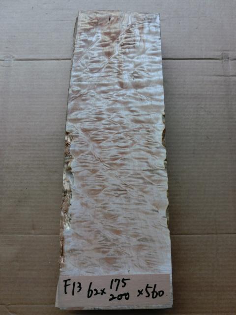 キルティッドメープル 無垢材