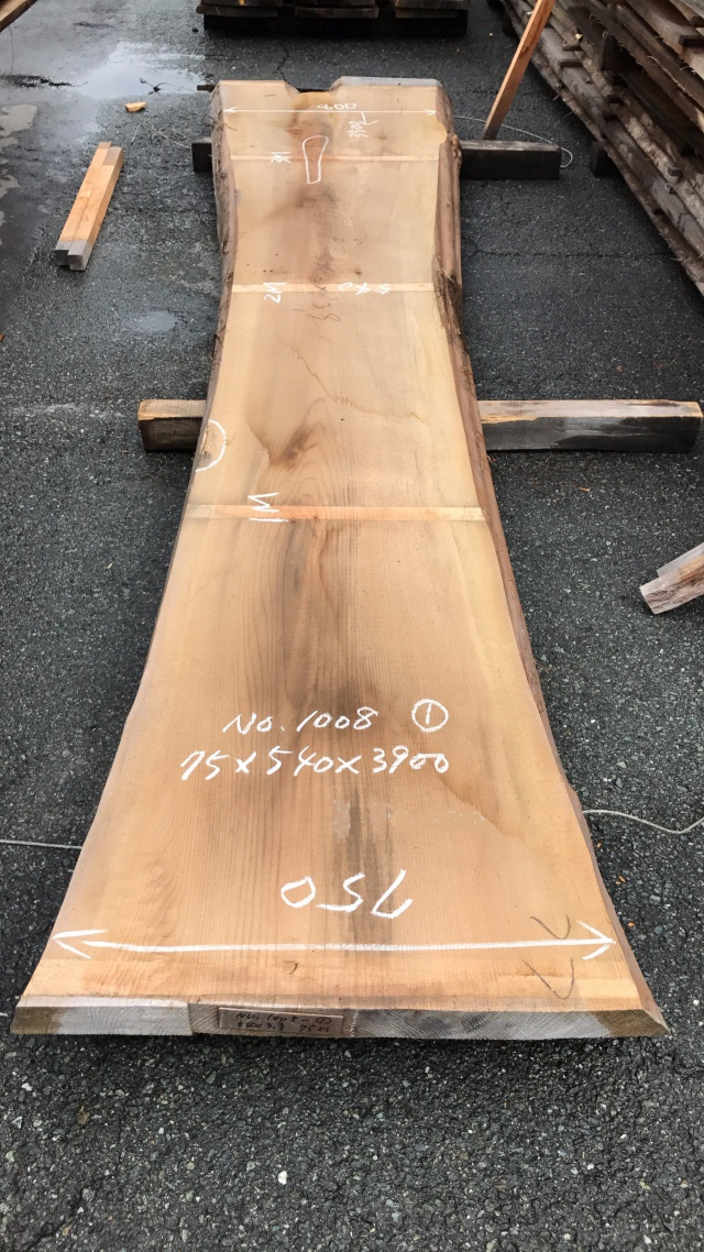 杉(スギ) 一枚板
