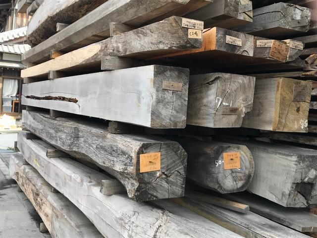 盤木 無垢材